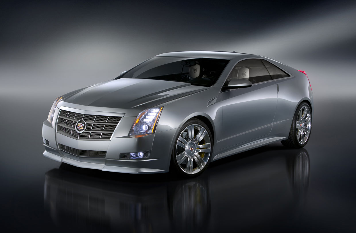 Cadillac CTS Coupe 2009 Cartype