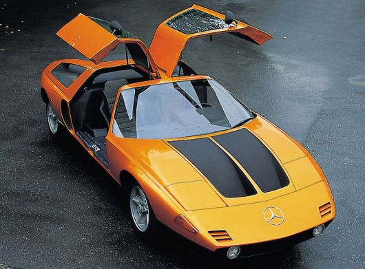 mercedes benz c111 doorsup1