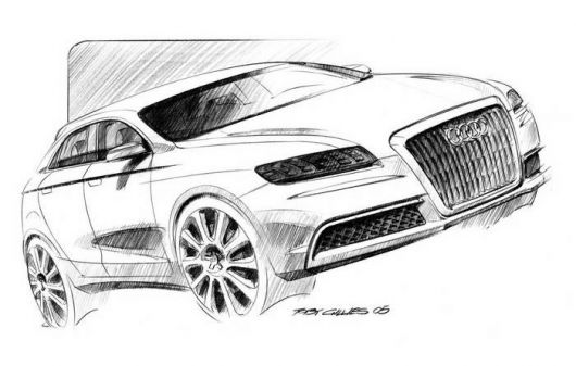 audi roadjet draw1