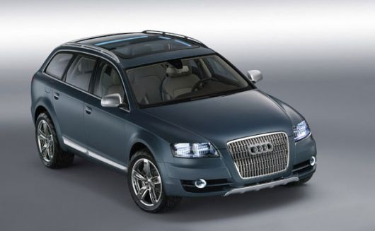 audi allroad fronttop
