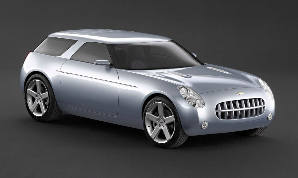 2004 Chevrolet Nomad concept.