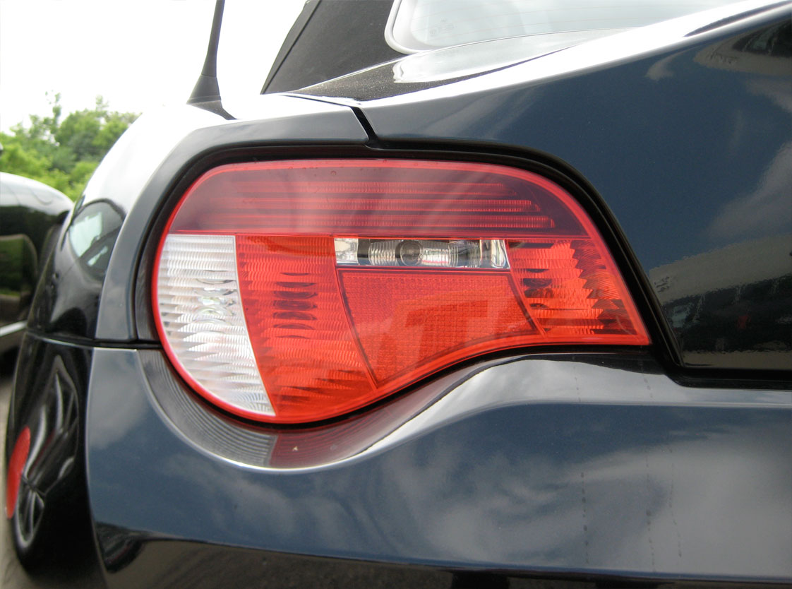 2004 BMW Z4 rear tail-light.