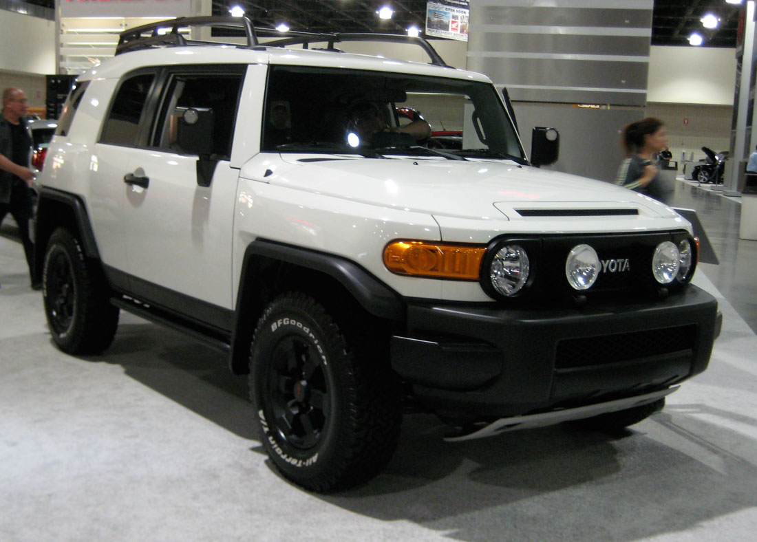 Toyota Fj Cruiser Trail Teams Special Edition 2008 Cartype