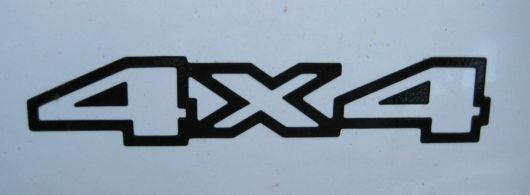 4x4 decal jeep