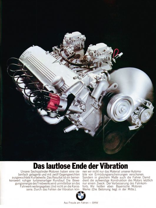 bmw end of vibration ad 70