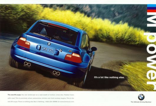 bmw m power ad