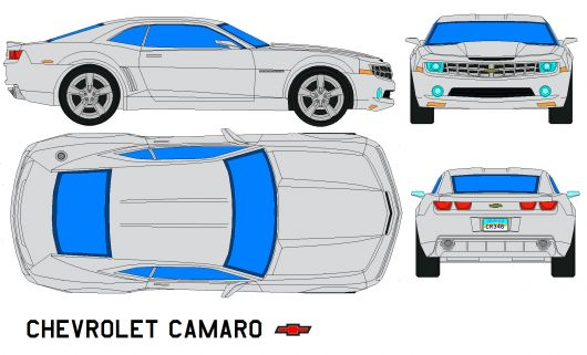 chevrolet camaro by bagera