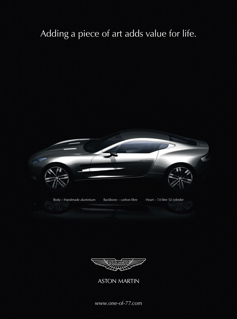 Aston Martin Used Car Ad >> Aston Martin ads | Cartype