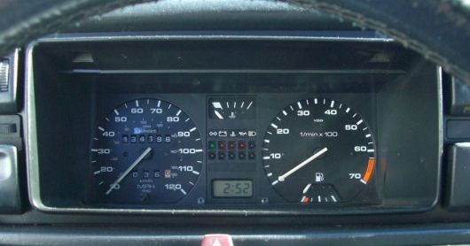 vw golf country gauge cluster 90