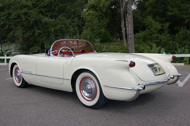 Chevrolet Corvette Convertible 1954 Cartype