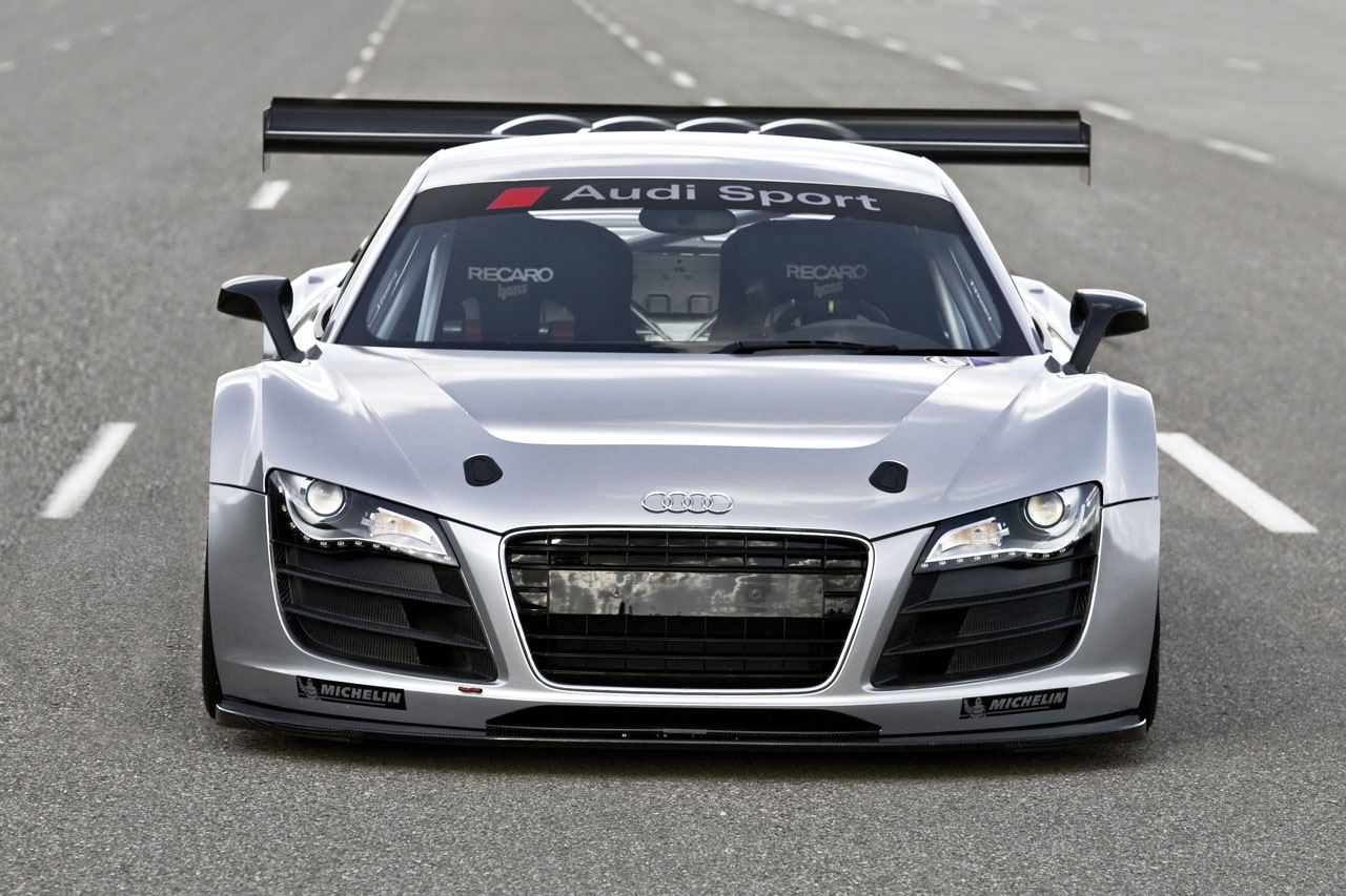New Amazing cars: Audi R8 GT3: 2008