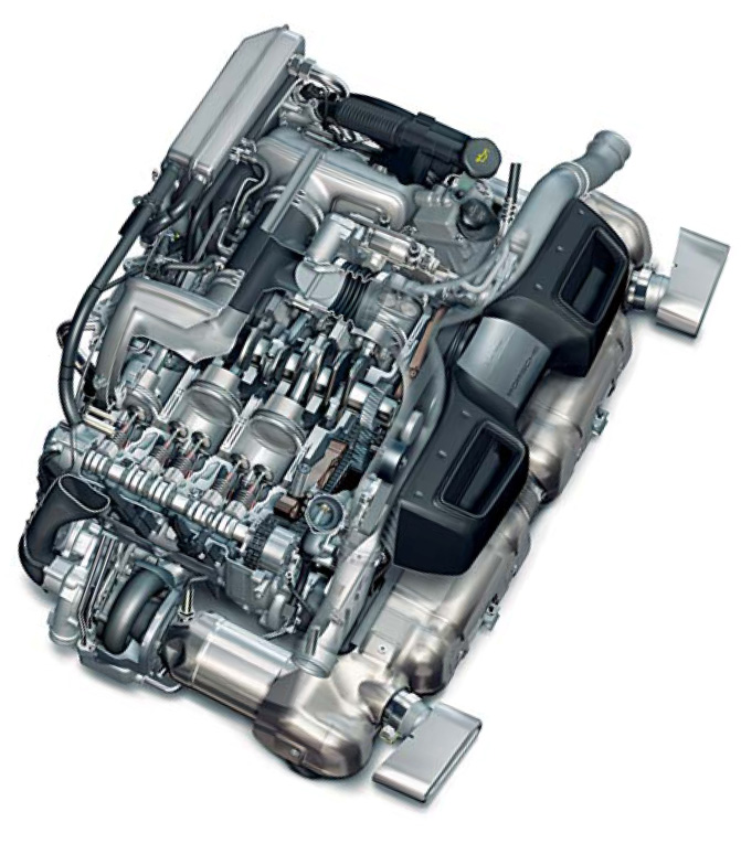 Porsche Engine Of The Year Cartype