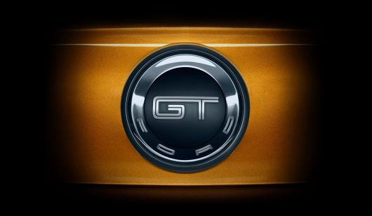 Ford  Mustang Gt Badge