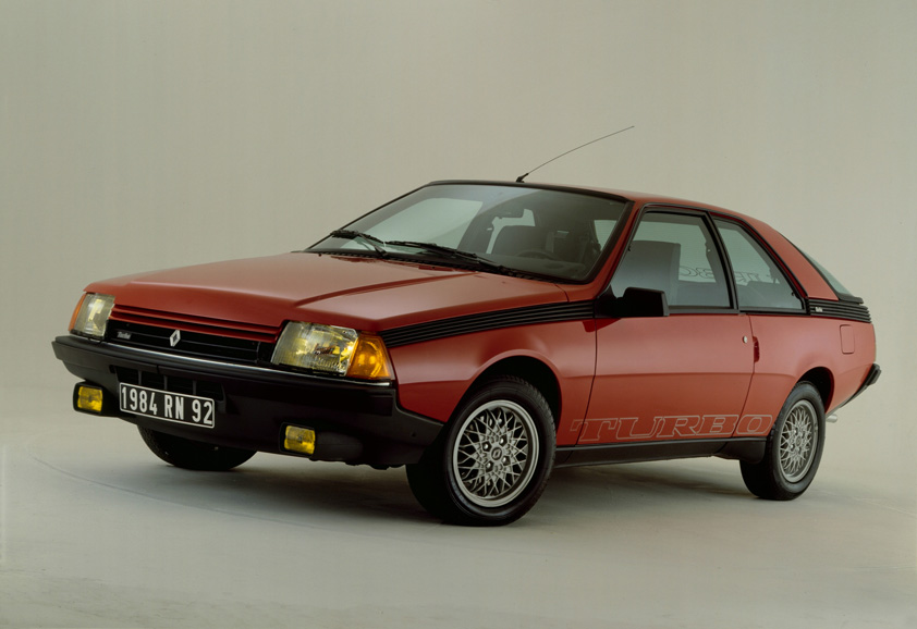 1983 Renault Fuego Turbo.