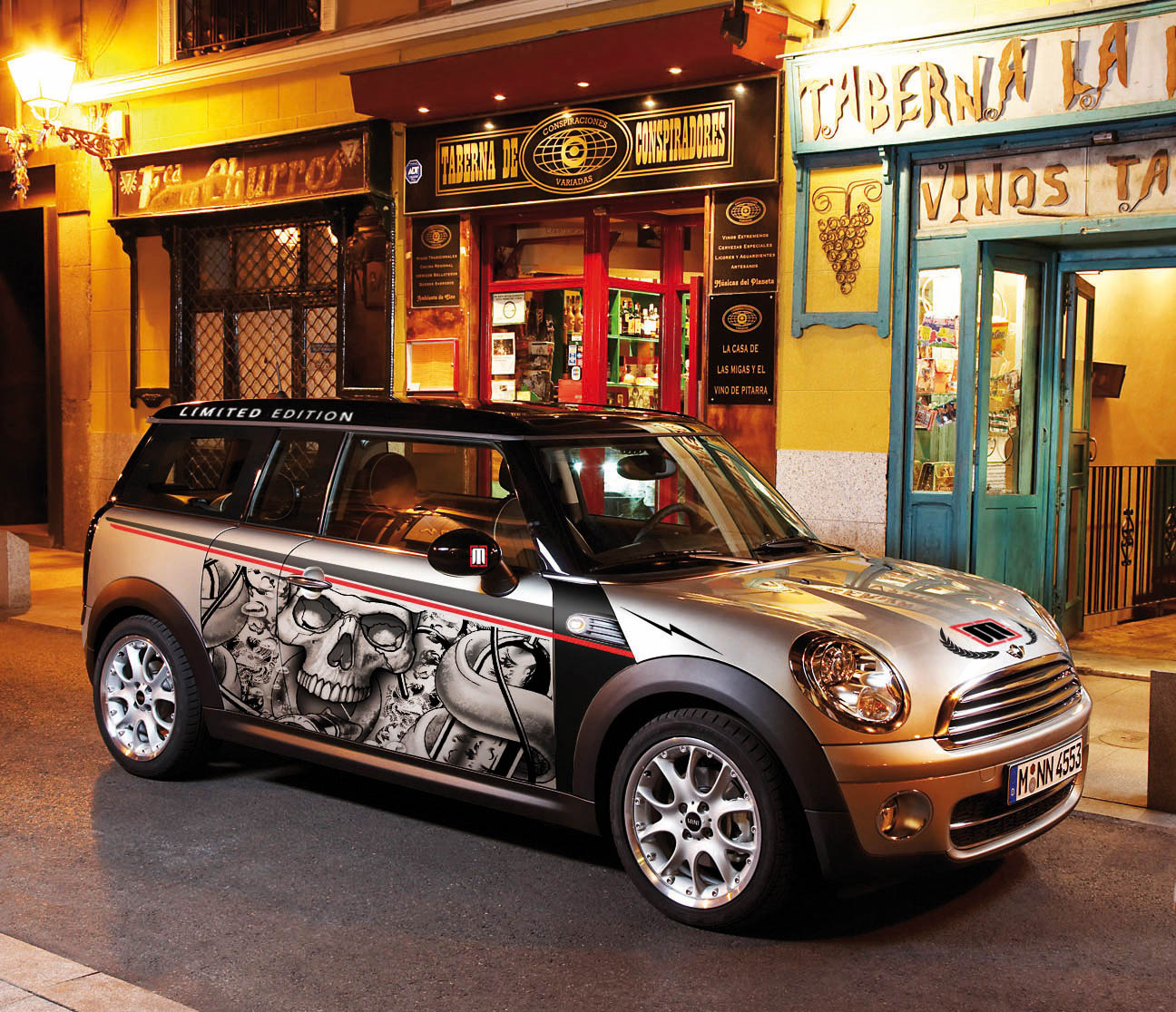 Mini Clubman personalized with
