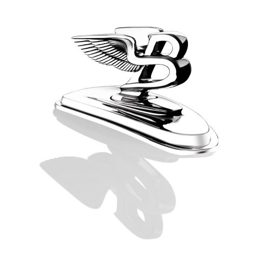 bentley arnage hood emblem 09