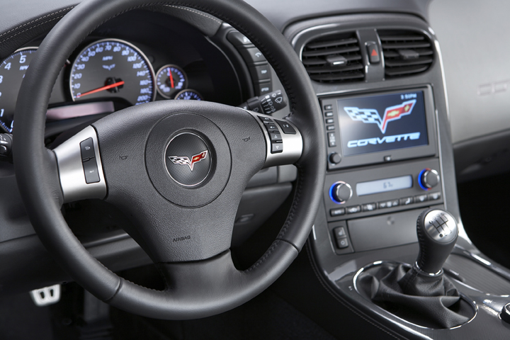 2009 Chevrolet Corvette ZR1 interior. There is no question that this is the