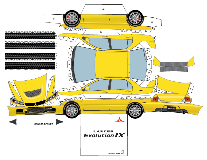 Alfa img showing gt paper model templates