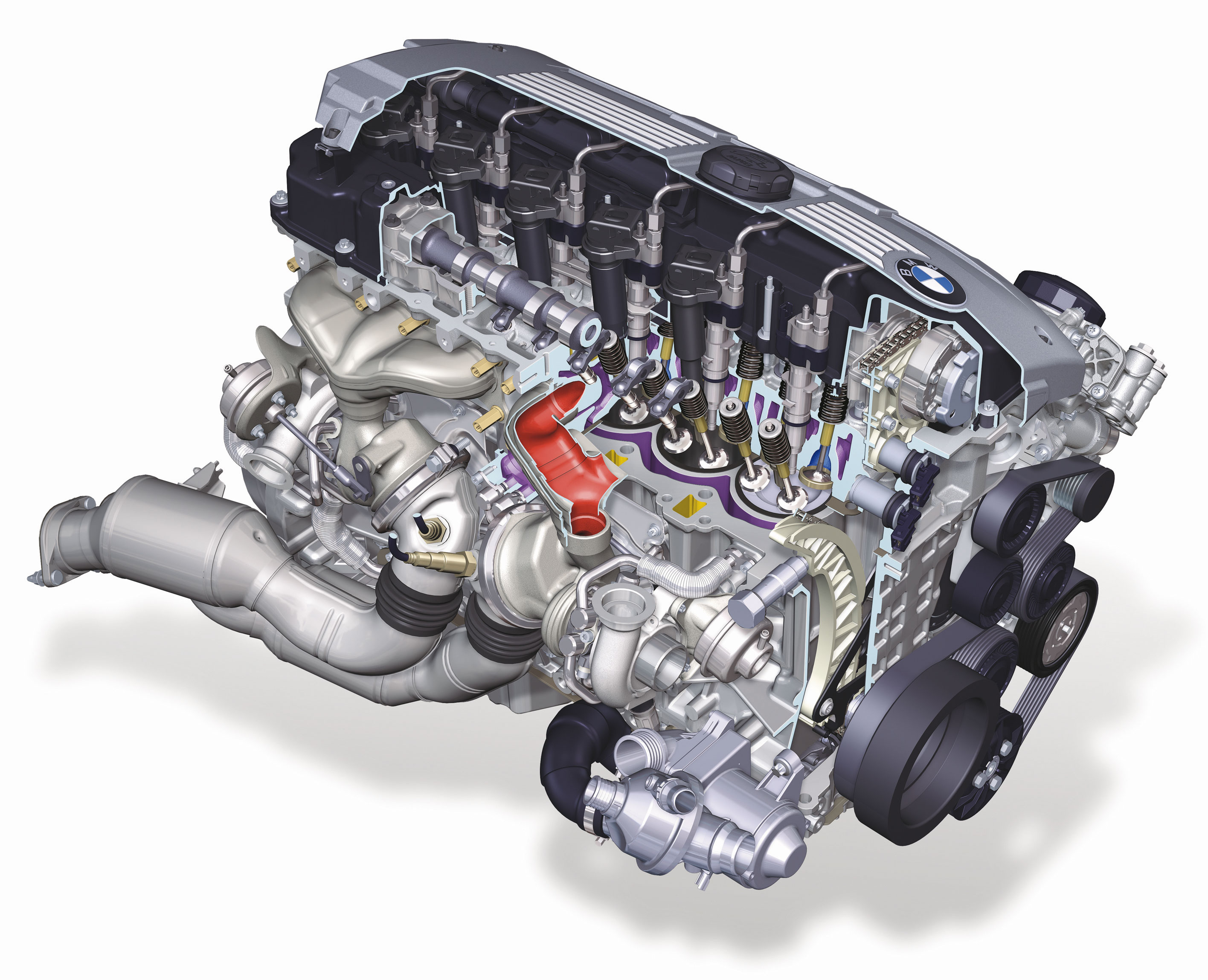 Bmw Engines Earn Two Places On Wards Annual 10 Best List S65 Engine Diagram 6 Cylinder Petrol