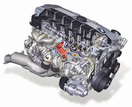 bmw 6 cylinder petrol engine
