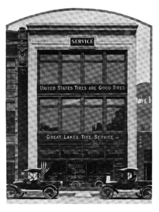 great lakes tire 1918