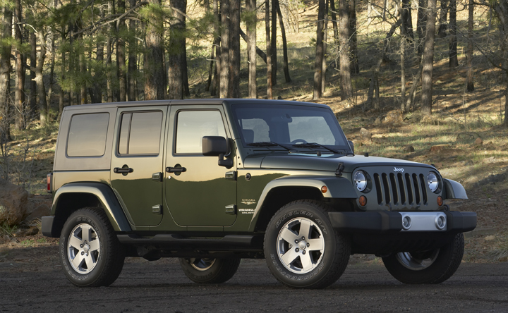 Jeep Wrangler Unlimited 2009 Cartype