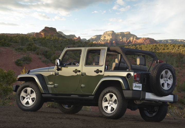 2009 Jeep Wrangler Unlimited.