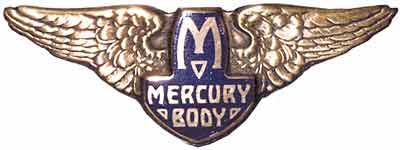 mercury body emblem