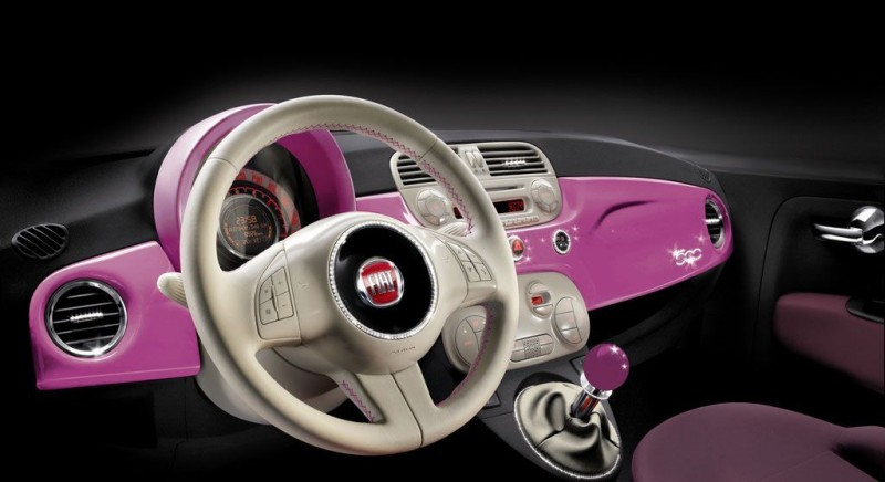 2009 Fiat 500 Barbie Edition Image