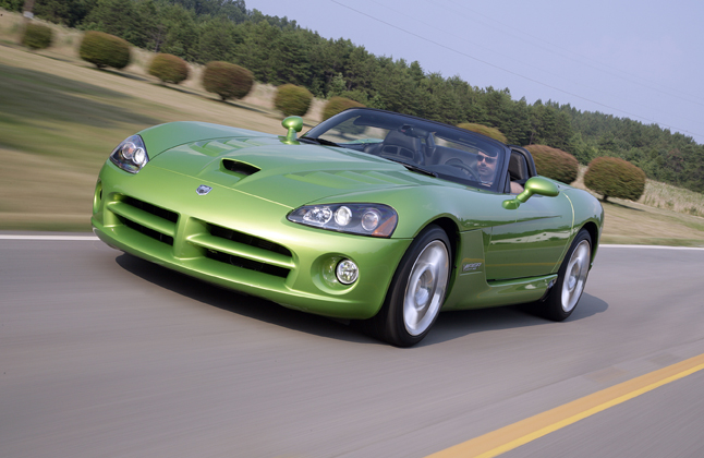 Dodge Viper Srt10 Roadster 09