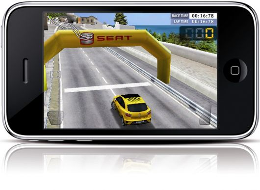 seat cupra race iphone game 1