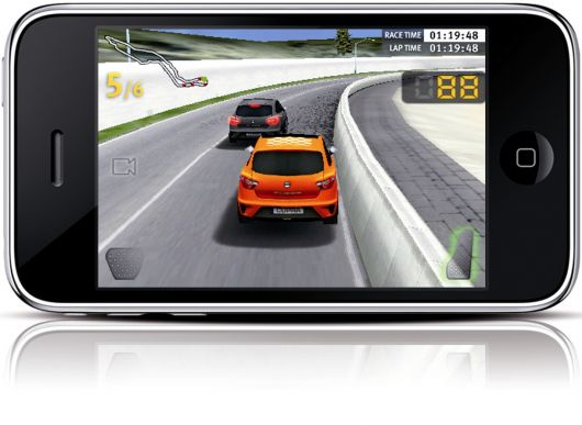 seat cupra race iphone game 2