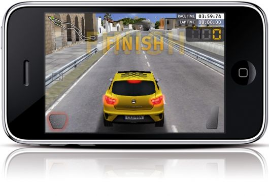 seat cupra race iphone game 3