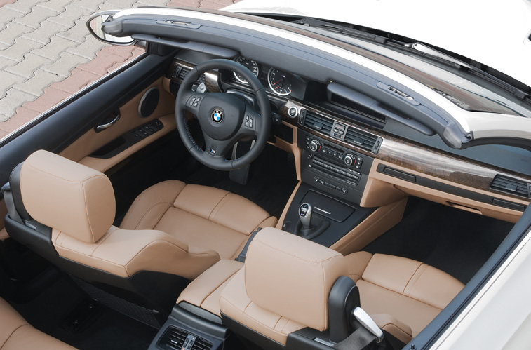 2009 BMW M3 Convertible Interior