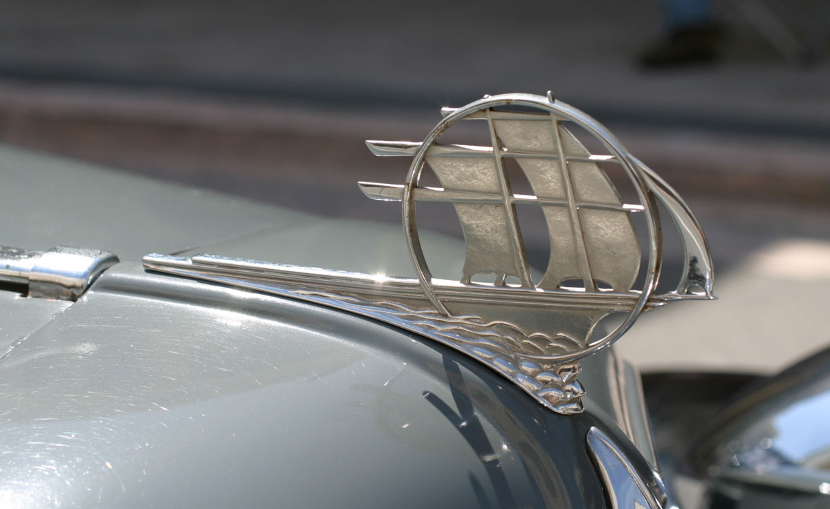 plymouth related hood ornaments