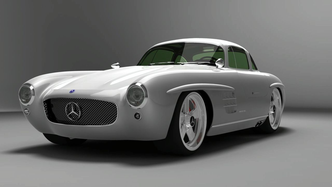 gullwing america 300 sl panamericana 2009 cartype. Black Bedroom Furniture Sets. Home Design Ideas
