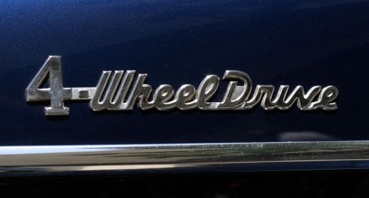 4 wheel drive emblem willys staion wagon s 55