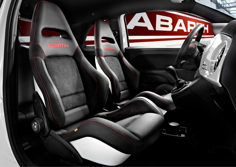 Nowadays the seats Abarth