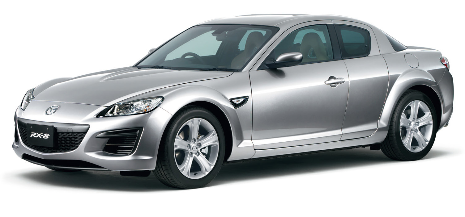mazda adds new features to rx 8 in japan cartype. Black Bedroom Furniture Sets. Home Design Ideas