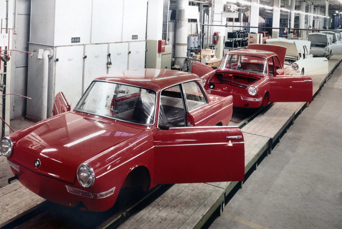 1959 production line of the