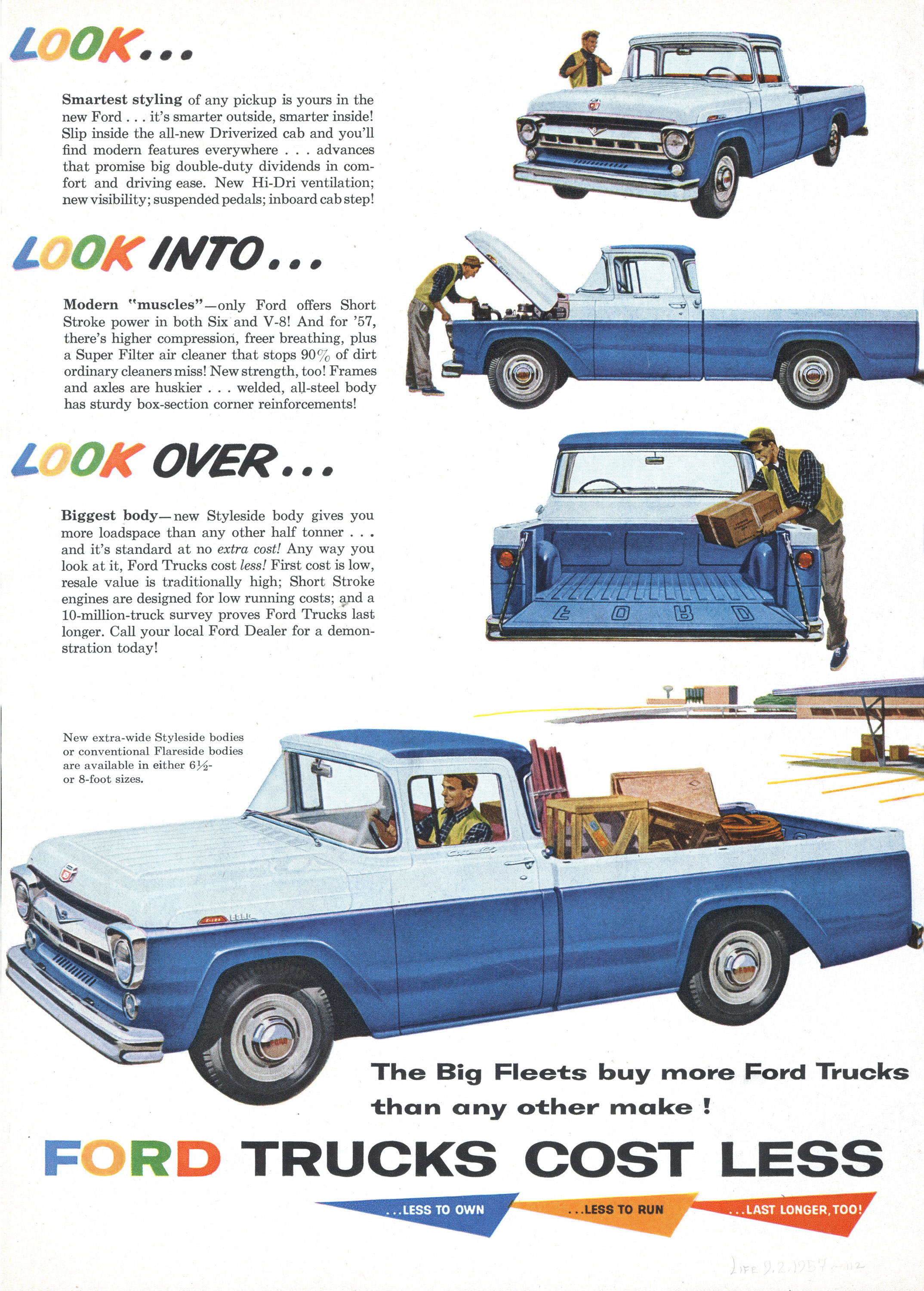 1959 Ford truck ad.