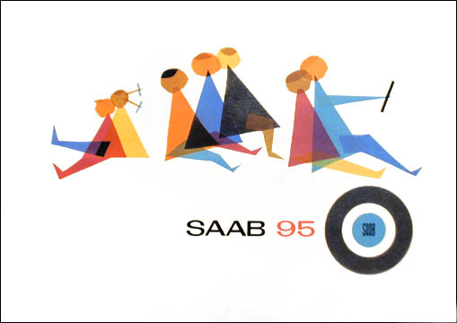 saab 95 16p catalog cover 61