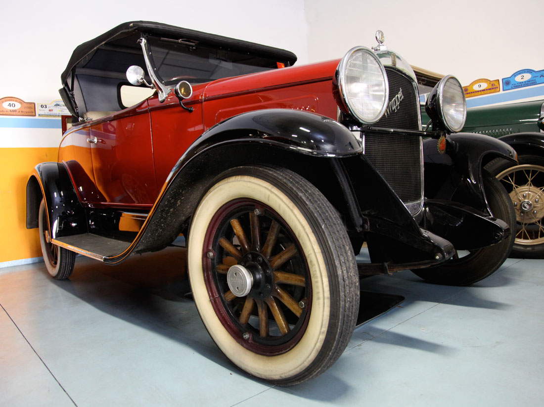 Willys Overland Whippet 1929 Cartype