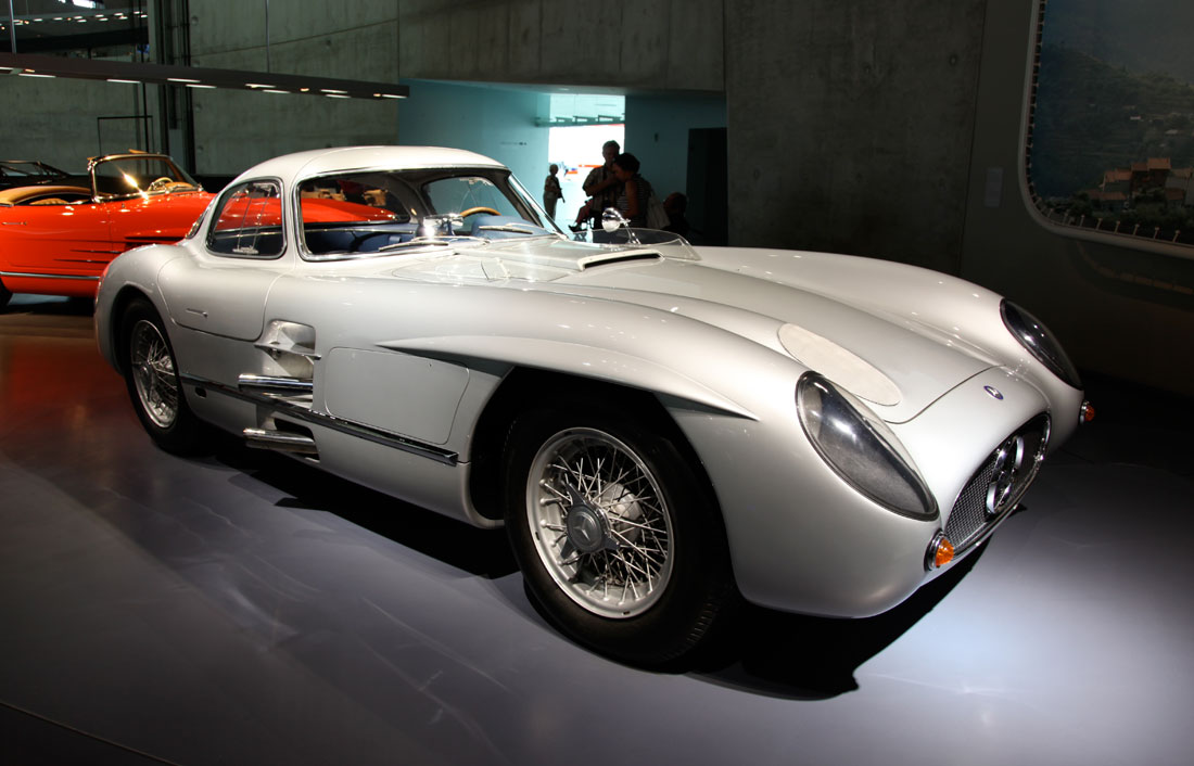 Mercedes Benz 300 Slr Uhlehhaut Coupe 1955 Cartype