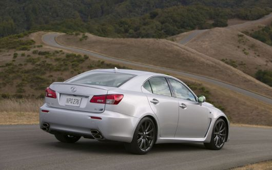 lexus is f 8 09
