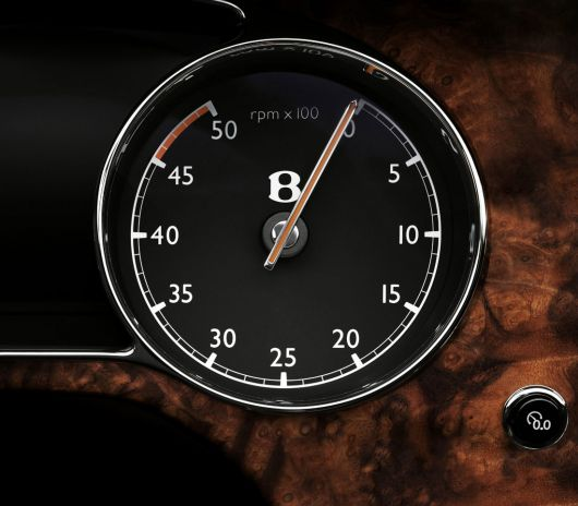 bentley mulsanne rpm dial 10