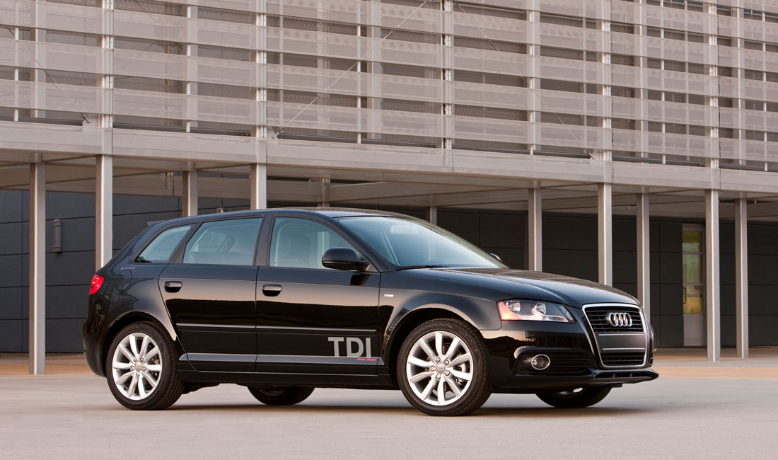 audi a3 tdi named 2010 green car of the year cartype. Black Bedroom Furniture Sets. Home Design Ideas