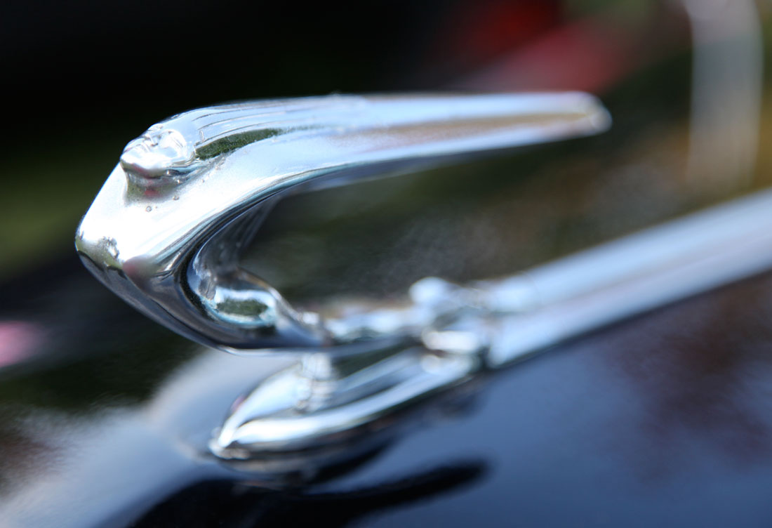 1937 DeStoro hood ornament.