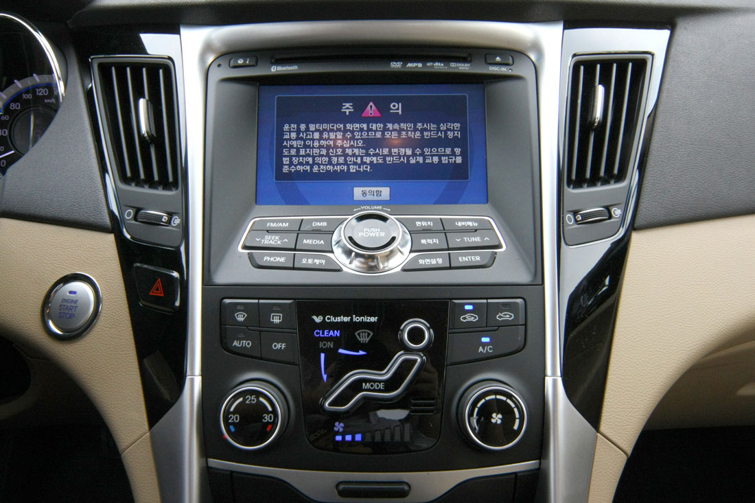 Hyundai Sonata Interior Hot Specification