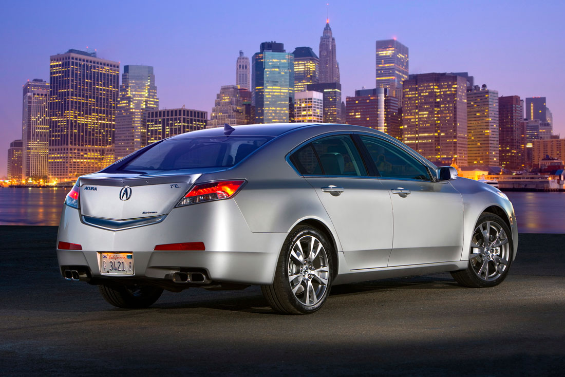 acura adds performance oriented manual transmission model to 2010 tl lineup cartype. Black Bedroom Furniture Sets. Home Design Ideas